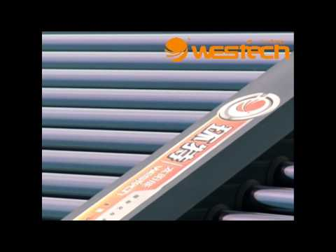 WESTECH SOLAR WATER HEATER PROJECT WUXI MIDDLE HOSPITAL