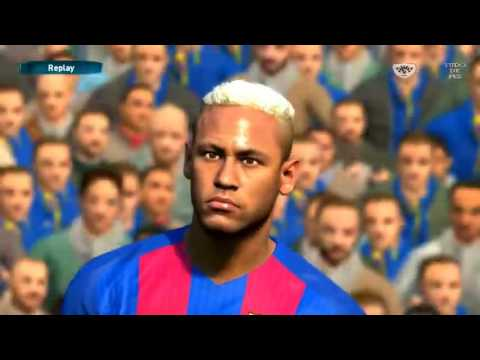 Pes 2017 New Update Hairstyle Neymar Link In Description Youtube