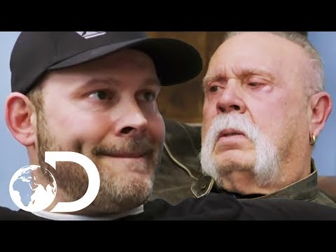 The Tricky Father-Son Relationship Between Paul Senior And Junior | American Chopper