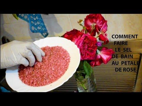 tutto comment faire le sel de bain au petale de rose bio youtube. Black Bedroom Furniture Sets. Home Design Ideas
