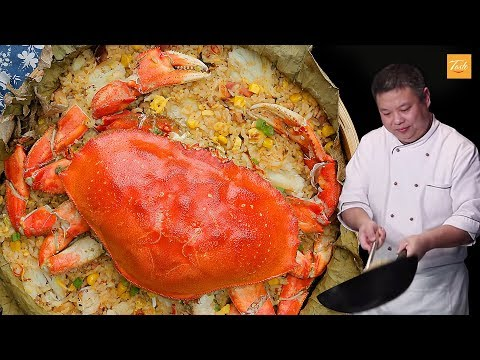 Chef's Favorite Chinese Rice Recipe With Crab • Authentic Chinese Food
