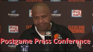 Cleveland Browns Postgame press conference following #CLEvsNYJ