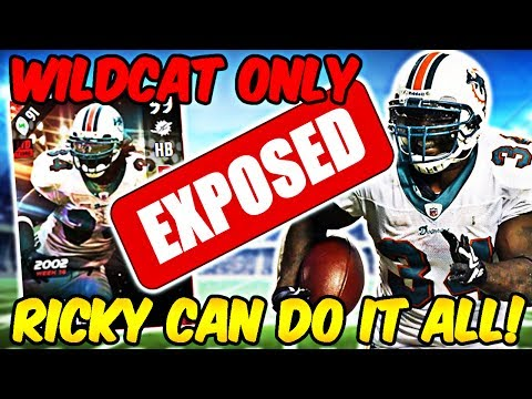 99 OVERALL RICKY WILLIAMS WILDCAT ONLY EXPOSING! HE THREW A 50 YARD TD | MADDEN 17 ULTIMATE TEAM