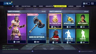 FORTNITE SHOP 18 JENNAIO - FYRA, JEAGER, ASCIA FROM BATTLE, ZANNA AND MORE