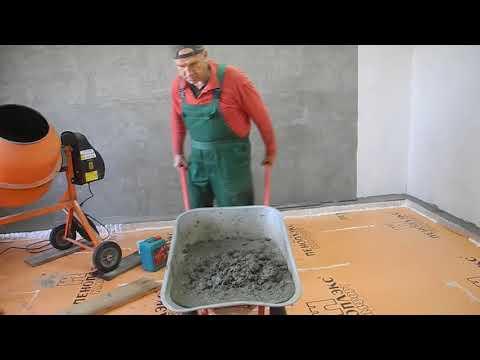 Как сделать бетонную