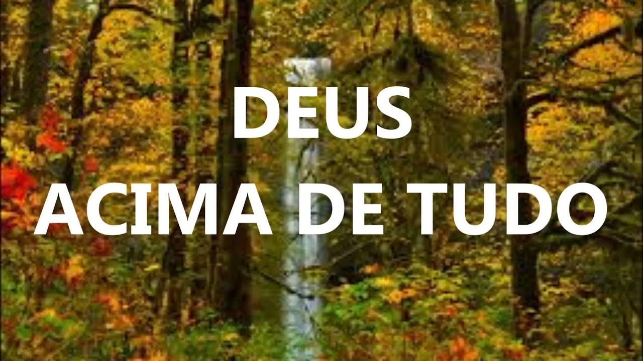 Frase Deus Acima De Tudo: Deus Acima De Tudo (Pr André Etzberger)