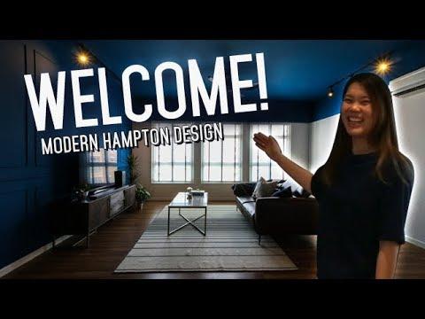 BTO MODERN HAMPTON STYLE HOUSE TOUR