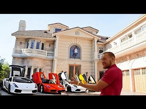 Conor McGregor New Home in Dublin And Collection of Cars!