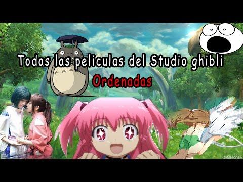 Todas  las películas del  Studio Ghibli Por fecha de salida  /De seguro Mas de una no has Visto !!