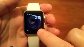 Apple Watch Astronomy watch face