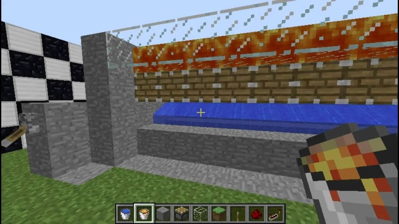 Dj Riggaz Minecraft Automated Obsidian Farm Youtube