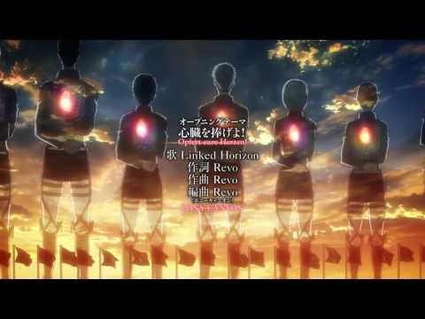 Attack On Titan  Season 2 Intro