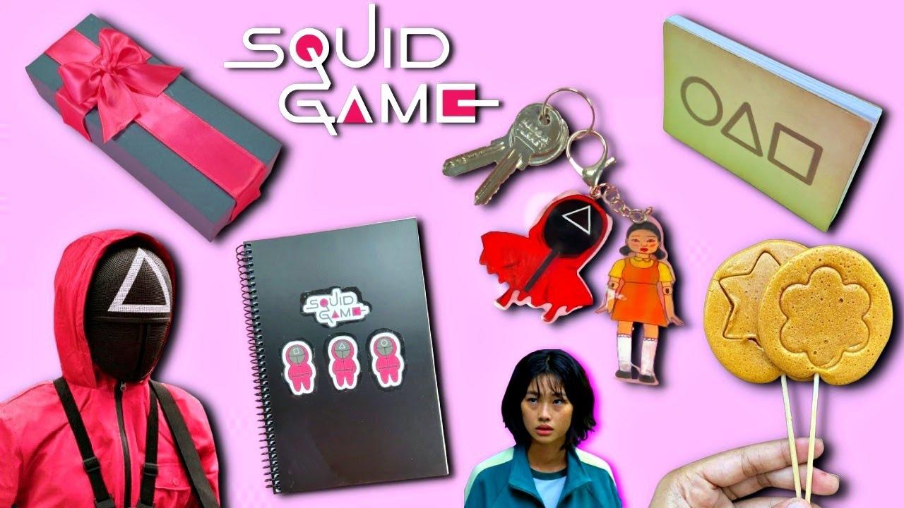 5 DIY - BEST SQUID GAME CRAFT IDEAS - GREEN LIGHT RED LIGHT - VIRAL TIK TOK TRENDS