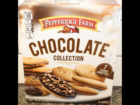 Pepperidge Farm Chocolate Collection – 7 Cookie Varieties Review