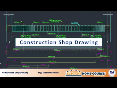 Construction shop drawing online course elegant home for Building drawing online