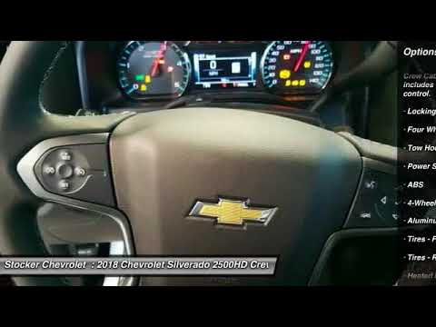 Charming 2018 Chevrolet Silverado 2500HD State College PA 204348. Stocker Chevrolet