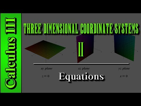 Calculus III: Three Dimensional Coordinate Systems (Level 2 of 10) | Equations
