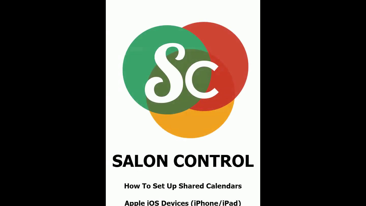 Shared Calendars – Salon Control Support