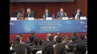 o Seminário Internacional Fake News: Experiências e Desafios reúne alguns dos principais especialistas brasileiros e europeus na busca do intercâmbio de ...