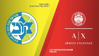 Maccabi Playtika Tel Aviv - AX Armani Exchange Milan Highlights | EuroLeague, RS Round 11
