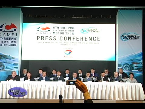 Philippine International Motor Show 2016 Press Conference -  Industry News