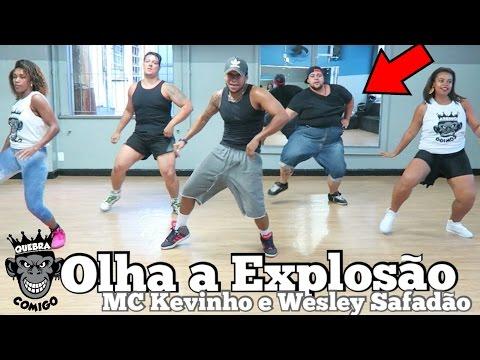 GORDINHO HUMILHA NA DANÇA - Olha a Explosão - MC Kevinho e Wesley Safadão - COREOGRAFIA