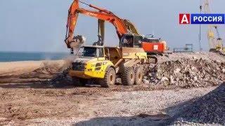 Мост в Крым сегодня видео через Керченский пролив Новое Видео 3.(Серия видео о строительстве., 2016-01-28T09:28:30.000Z)