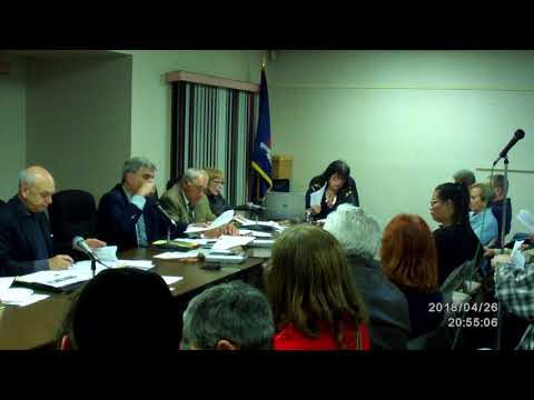 Chestnut Ridge Village board meeting 4/26/18 pt6