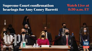 WATCH LIVE | Amy Coney Barrett questioned at Supreme Court confirmation hearing