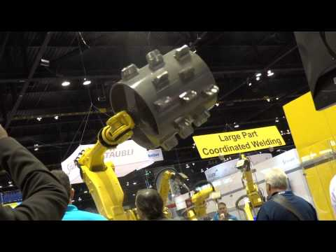 Automate 2015 FANUC Large Robotic Movement