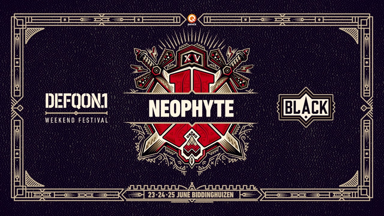 The colors of Defqon 1 2017 | BLACK mix by Neophyte
