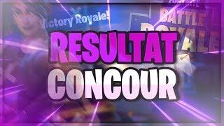 [FORTNITE] CONCOUR 2000V-BUCKS RESULTS
