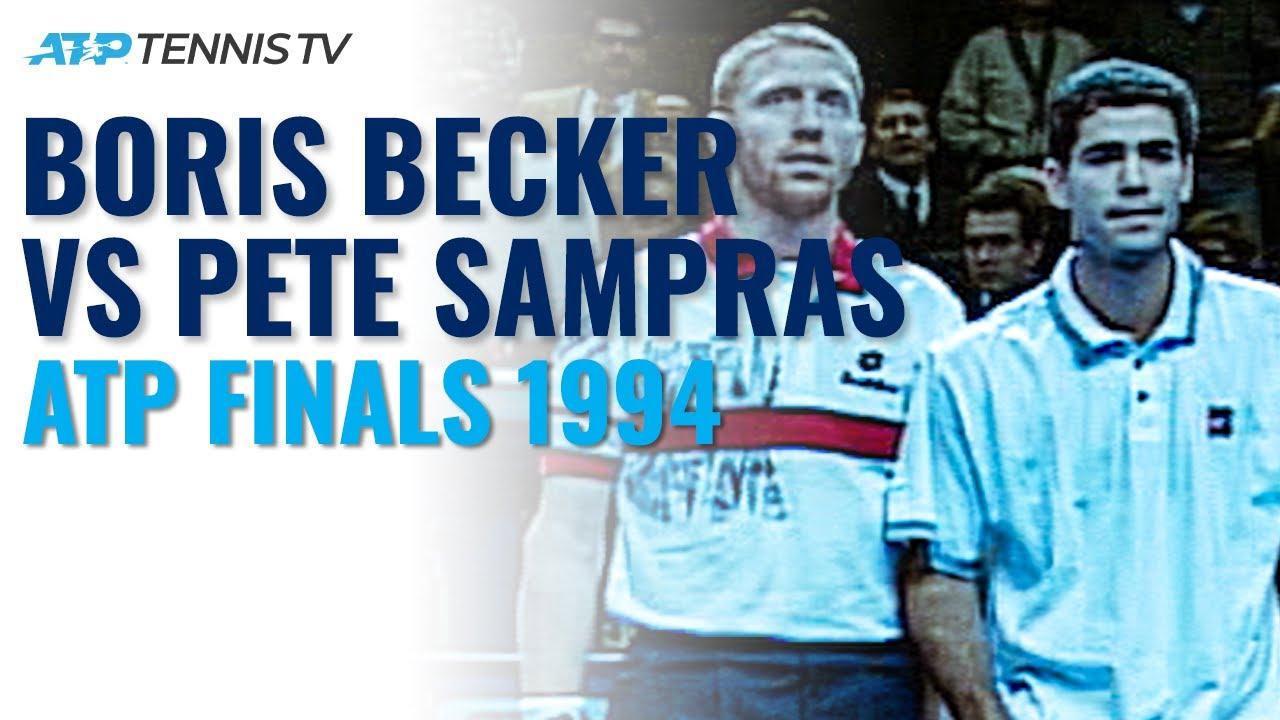 Sampras vs Becker Dramatic Rivalry | ATP Finals 1994