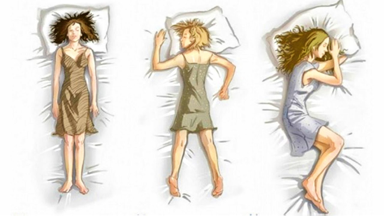 What Your Sleeping Position Reveals About Your Personality
