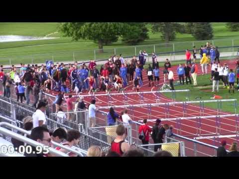 2016-05-12 UE Conference Boys FrSo 110m Hurdles