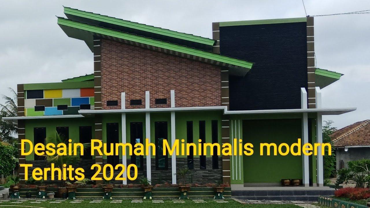 Desain Rumah Minimalis Modern Terbaru 2020 - YouTube