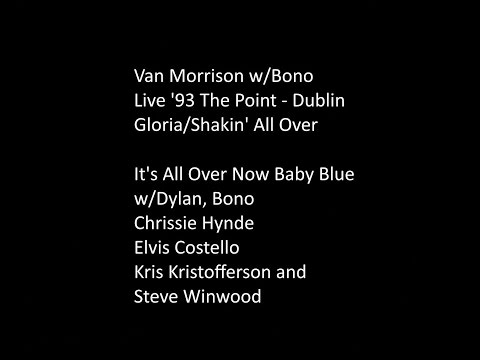 Van Morrison & Bono - Gloria, Shakin All Over & Then,