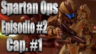 "Halo 4 Spartan Ops - Capitulo #1 Ep.#2 ""Clean Up"" HD Temporada #1"