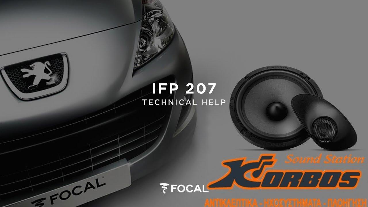 Unboxing-Installing FOCAL IFP207 / Peugeot 207 Door Removal korbos.gr