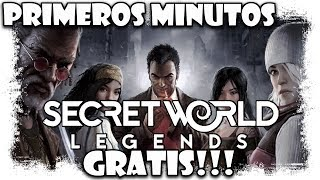 The Secret World Legends Gameplay Español | Primeros Minutos | MMOrpg action free to play