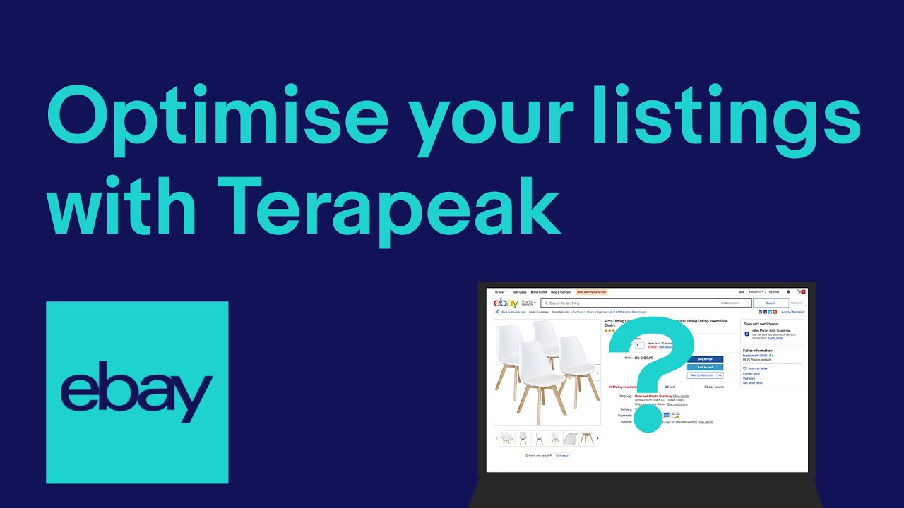 Optimise and review your listings for success with Terapeak   eBay for Business UK