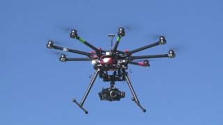 Commercial drones cleared for take off