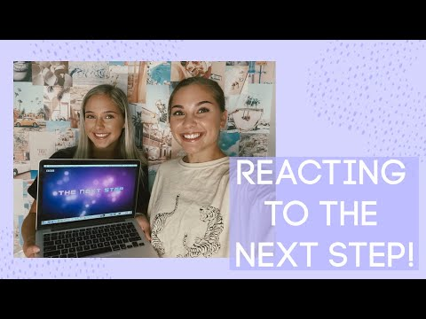 REACTING TO OUR FIRST EPISODES ON THE NEXT STEP *special announcement*