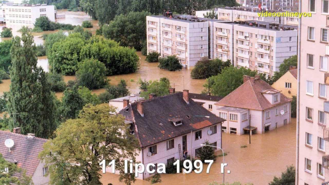 Powódź w Opolu - 1997 rok (Powódź tysiąclecia) - YouTube