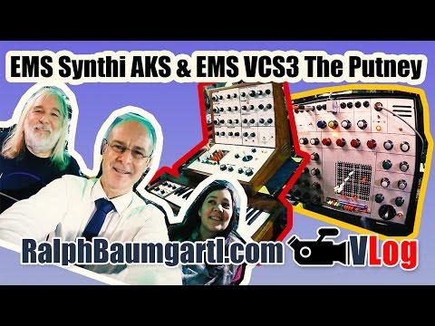 EMS Synthi AKS and EMS VCS3 (The Putney) | Legendary Synthesizer