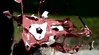 Destroying Piggy Banks in Super Slow Motion | Slow Mo Lab