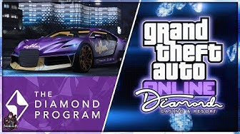 GTA Online Casino DLC Update - VIP Membership status! Diamond Program rewards!  MORE Details & Info!