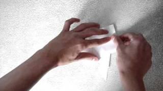 Как сделать лягушку из бумаги.