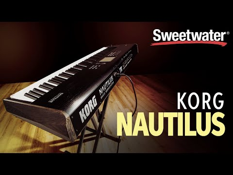Korg Nautilus Digital Performance Workstation Demo
