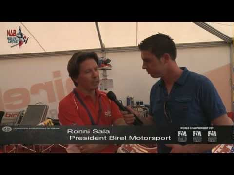 (English) Interview with Birel Motorsport president Ronni Sala